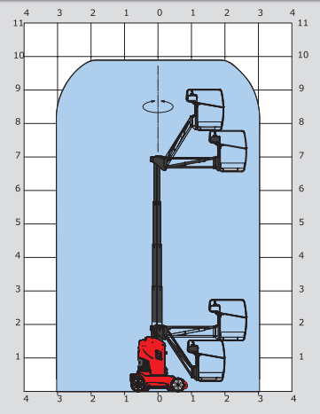 Manitou 100 VJR diagram